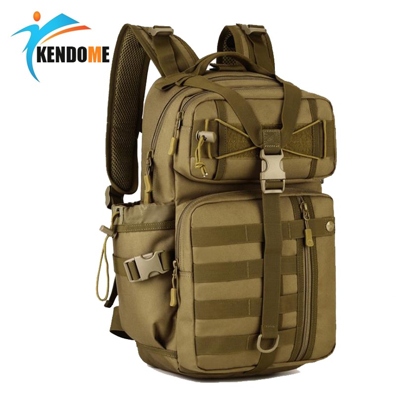 Hot Men Outdoor 3P Tactical Backpack 900D Waterproof Army Shoulder Military hunting camping Women Multi-purpose Molle Sports Bag цена