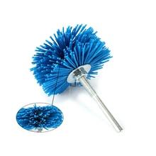 цена на 3 6mm Shank Abrasive wire Grit 120 Grinding wheel Nylon yarn Bristle brush