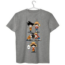 Luffy and Goku Fusion Shirt (3 Colors)