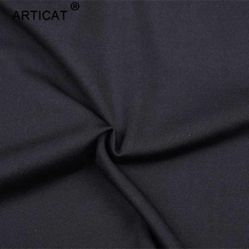 Articat الخريف أسود مثير طويلة الأكمام المرأة الرياضية مرونة طويلة الأكمام مثير المحاصيل قمم نحيل السراويل اثنين من قطعة مجموعة رياضية