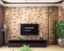 beibehang  papel de parede papier peint 3D solid rock PVC waterproof wallpaper characteristic stone chafing dish shop