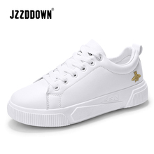 JZZDDOWN Womens Chunky Sneakers Fashion Women Platform Shoes Lace Up Pink Female Trainers Dad Shoes Bambas Plataforma Mujer
