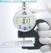 0 10 мм цифровой дисплей толщиномер кожа 001 ЖК Цифровой Толщиномер