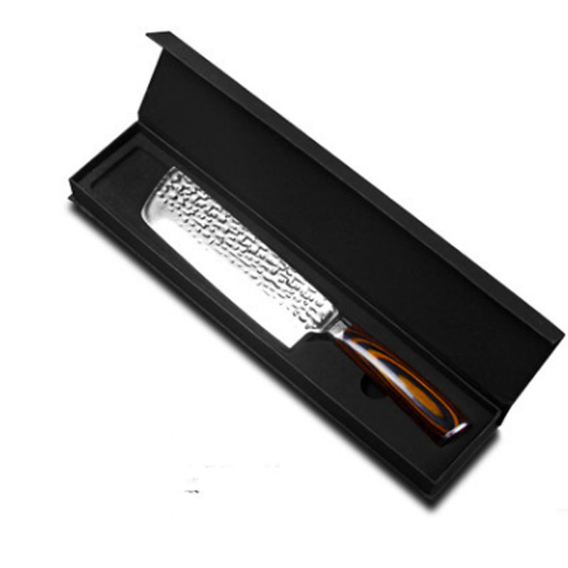 Liang Da Seamless Welding Kitchen Knife 7CR17 Stainless Steel 65 Non-stick Chef Energy-saving Cooking Tool Hot Sale