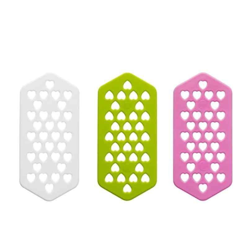 10 шт. в форме сердца полые шаблон шпилька Пластик PP Вставить Pin волос завивки умирает Инструменты моделирования профессиональный салон расходных материалов