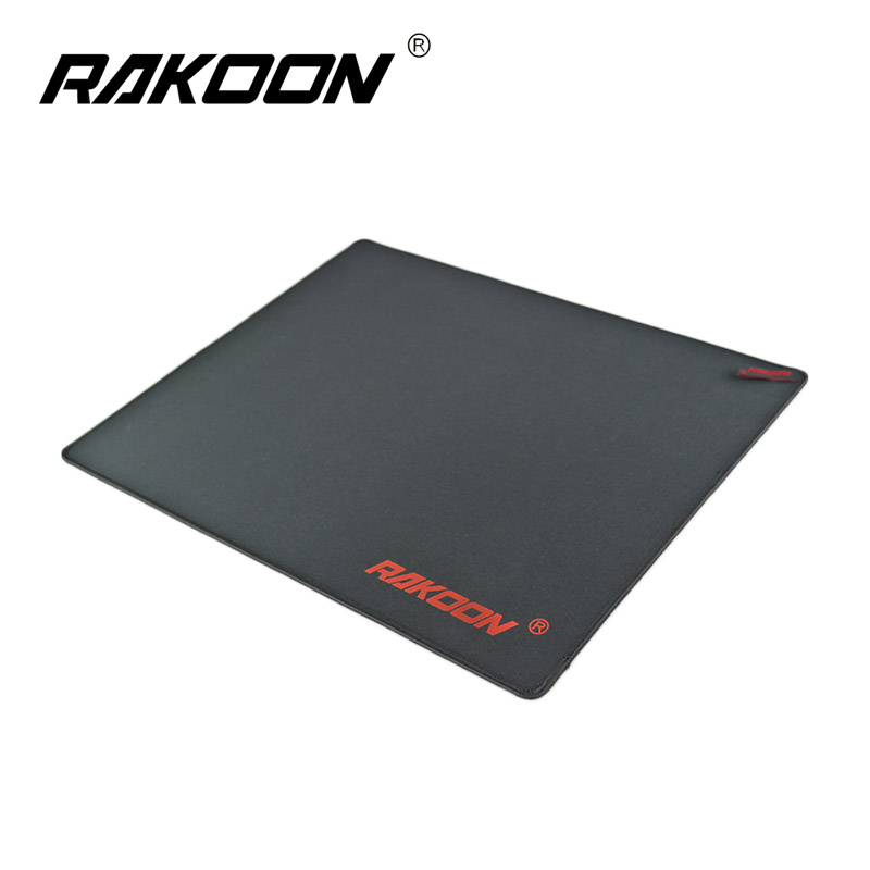 Rakoon Gaming Mouse Pad Lock Edge Pits Computer Mouse Mat Anti-slip Rubber Mousepad Control Version For Dota 2 Lol