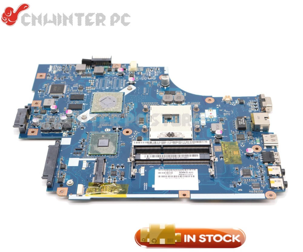 NOKOTION NEW70 LA-5891P MBWJR02001 MB.WJR02.001 For Acer Aspire 5742 5742G Laptop Motherboard HM55 DDR3 HD5470 Graphics