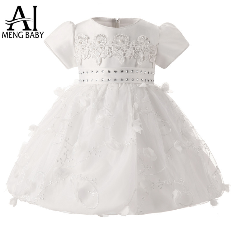 Popular White Baby Dress-Buy Cheap White Baby Dress lots from ...