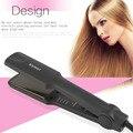 Kemei km-329 profesional alisadores de pelo alisado de hierro plana herramientas de peinado del cabello cuidado de la belleza de la ue plug 35 w en stock