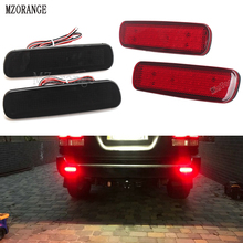 MZORANGE Car LED Rear Bumper Reflector Light For Toyota Land Cruiser 100/Cygnus LX470