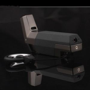 Image 5 - Welding Jet Gas Lighter Torch Turbo Lighter Key Ring Fire Windproof Portable Spray Gun Metal Pipe Cigar Lighter Outdoor 1300 C