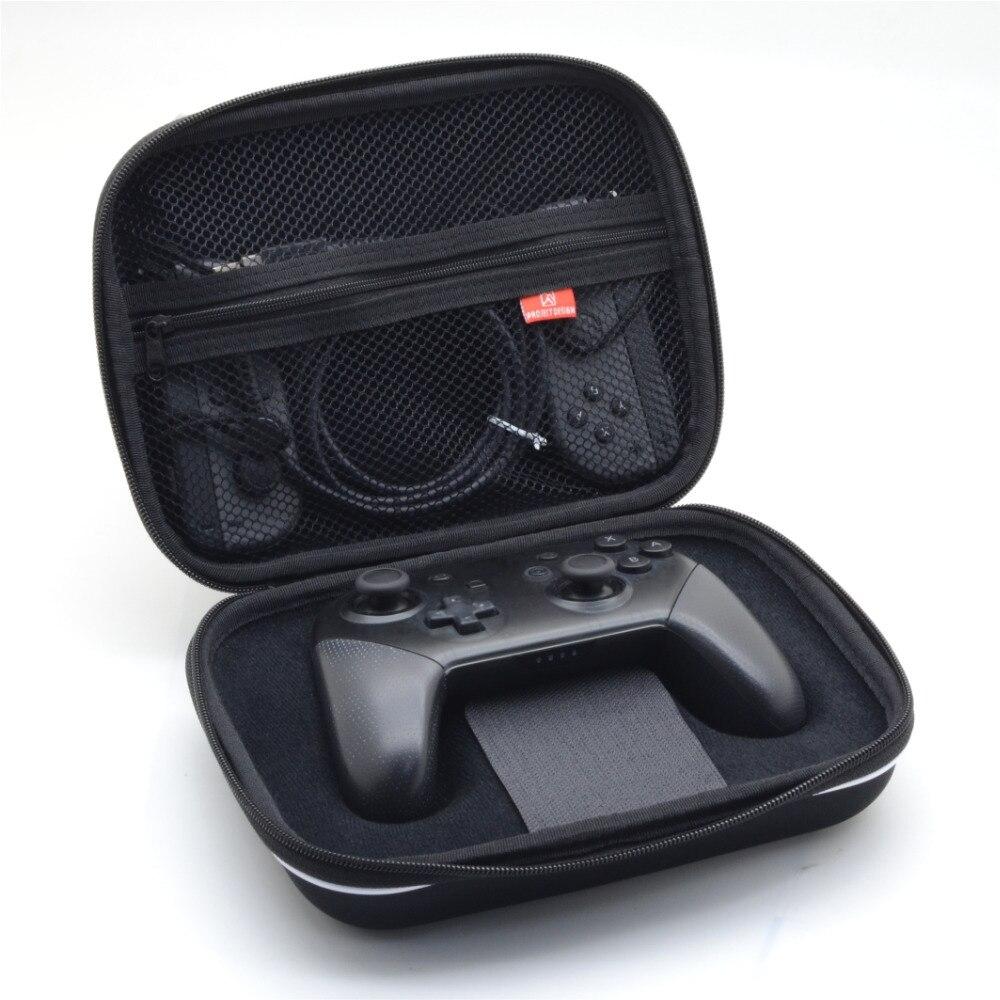 Купить с кэшбэком For Nintend Switch NS Nintendo Pro Joy-con Eva Airform Hard Pouch Case Bag Sleeve Protect Game Carrying Storage Travel bag 2in1