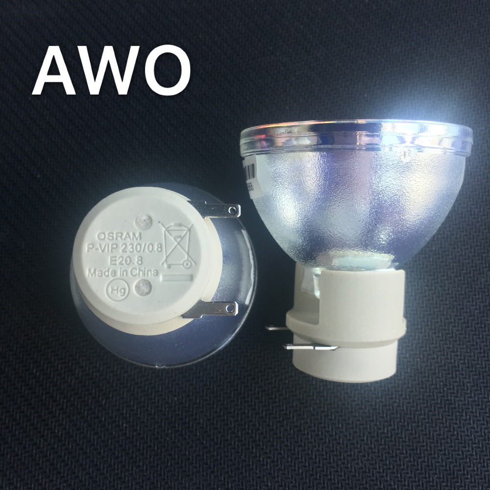 1pcs 100% New Original Projector Bulb Lamp P-VIP230/ 0.8 E20.8 for Benq  ACER  OPTOMA  Projectors