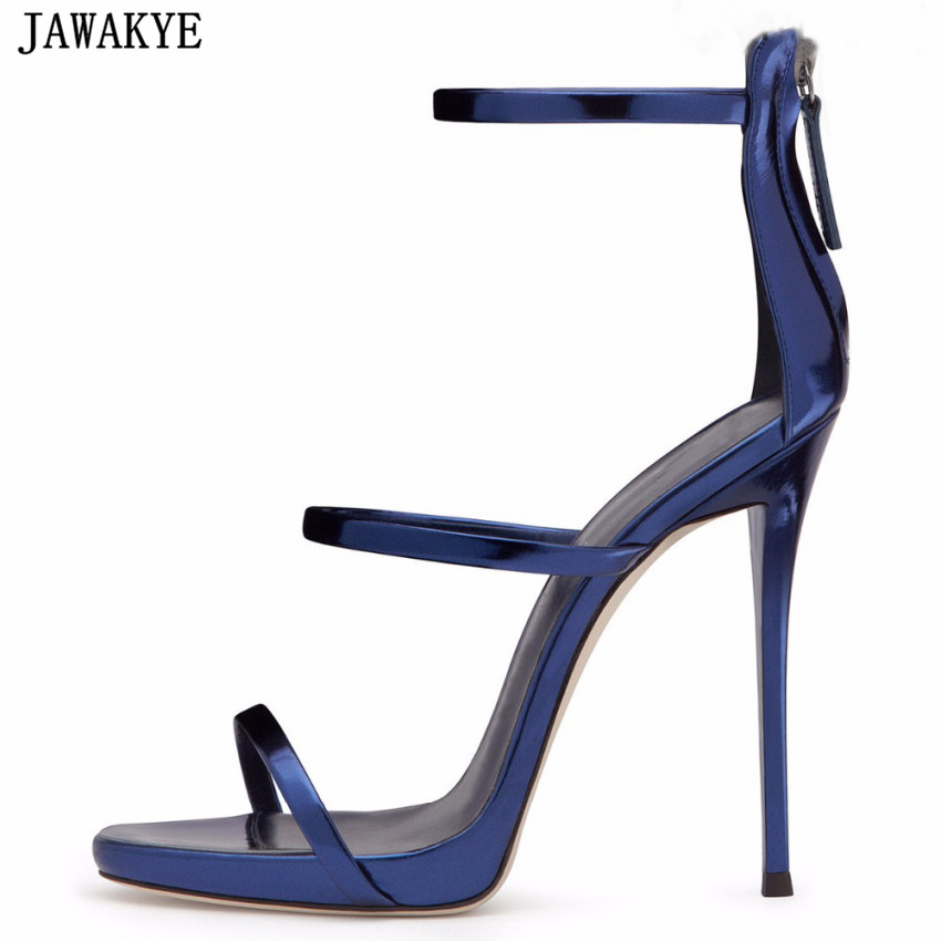 Sexy summer beige blue silver bandage High Heel dress Shoes Women Ankle Strap platform gladiator Sandals sandalia feminina игрушка ecx torment silver blue ecx03033t1