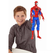 "Amazing Spiderman Superhero Ultimate Spider-man Peter Benjamin Parker PVC Action Figure Collectible Modelo Toy 30 cm 12 ""encaixotado(China)"