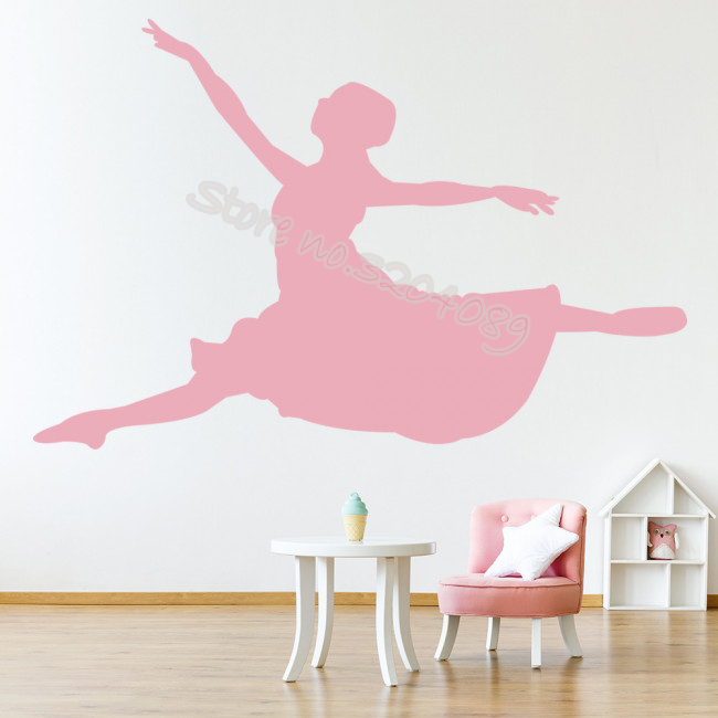 Helpful Dance Wall Decals Stickers Ballet Shoes Slippers Ballerina Art Home Decor Girls Bedroom Nursery Kids Room Removable Mural Da15 Less Expensive Home Decor Wall Stickers