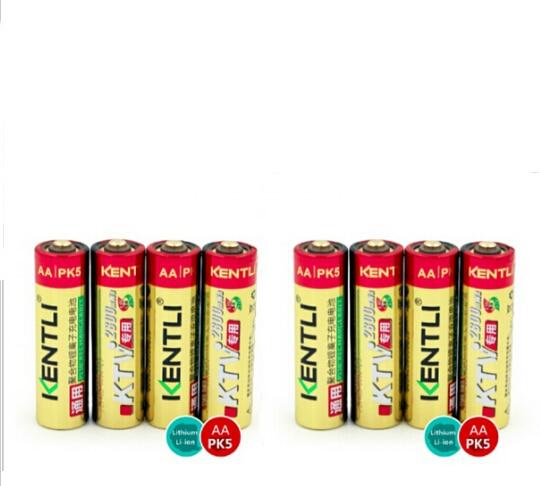 aa 1.5v lifepo4 batteries 2800mWh Li-polymer Li-ion lithium 1.5v 8pcs KENTLI 14500 Rechargeable battery Apply to Toy flashlight 30a 3s polymer lithium battery cell charger protection board pcb 18650 li ion lithium battery charging module 12 8 16v