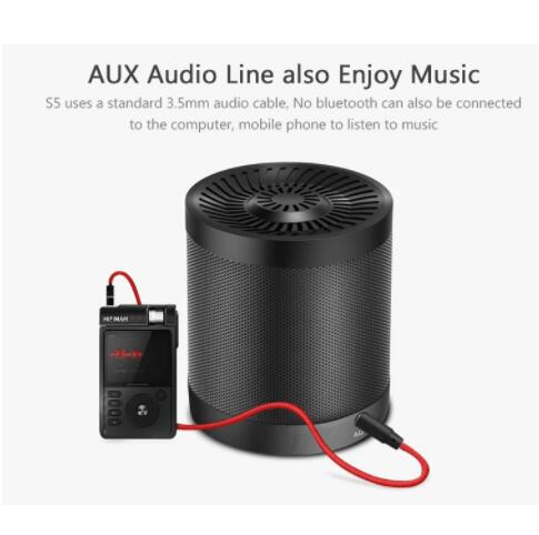 Zélot S5 Portable Bluetooth haut-parleur colonne sans fil Subwoofer Super basse stéréo USB TF carte jouer avec Microphone