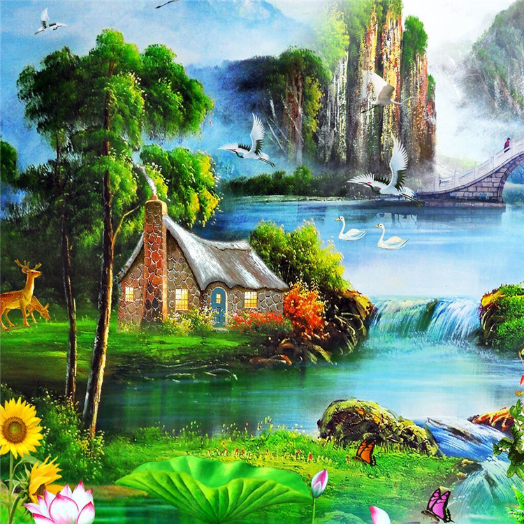 Most beautiful scenery of nature for Beautiful painting images