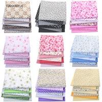 Tianxinyue multicolorido 100% algodão colchas de tecido para costura retalhos crianças sacos brinquedo do bebê diy tecido