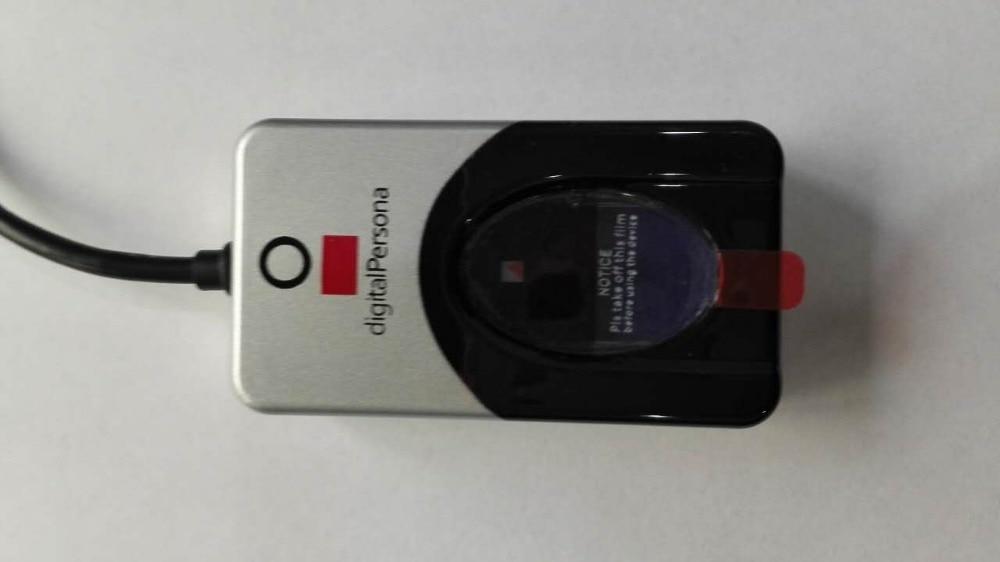 Free Shipping URU4500 100% Original Digital Persona Fingerprint Reader USB SDK Biometric Sensor