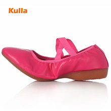 Ballet Dance Shoes Square Sneakers For Woman Girls Pointe Practice Shoes Soft Modern Dance Jazz Shoes Zapatos Sandalia Feminina