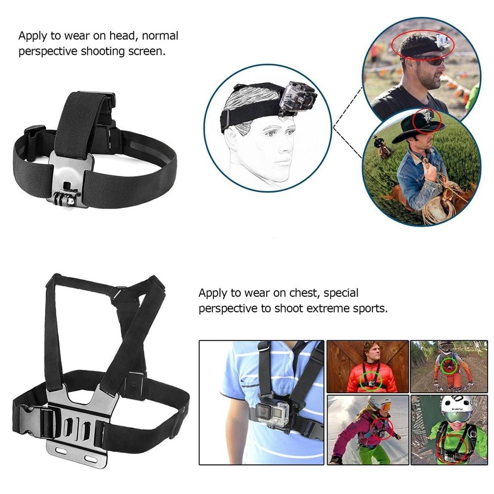 Комплекти за аксесоари за екшън - Камера и снимка - Снимка 3