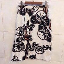 694fa282d3fc00 Casual flower skirt for women 2019 Summer Pleated Mini Maxi Skirt Vintage  Women Metallic Skirt