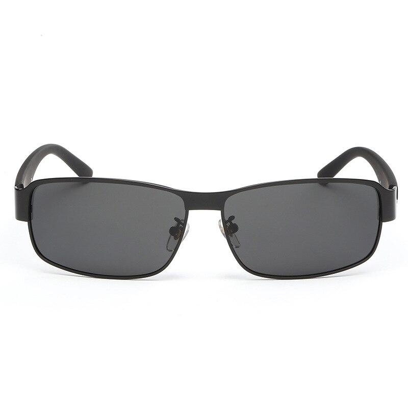 Große Quadratische Polarisierte Sonnenbrille Weibliche Retro Polarisierte Sonnenbrille,WholeGrayFilm