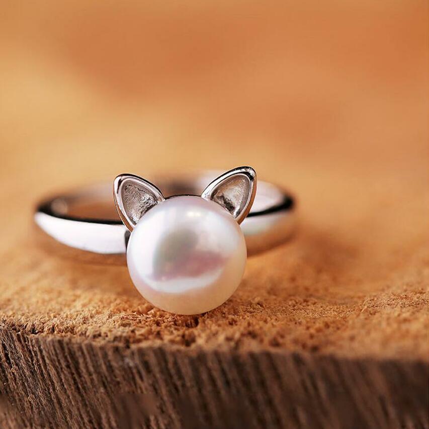 Online Get Cheap Women Fashion Girls Cat Ears Pearl -Aliexpress ...