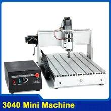 200 W Trois-axe Fils Vis CNC Routeur Graveur Gravure Fraisage De Forage Machine De Découpe CNC 3040 Z-DQ