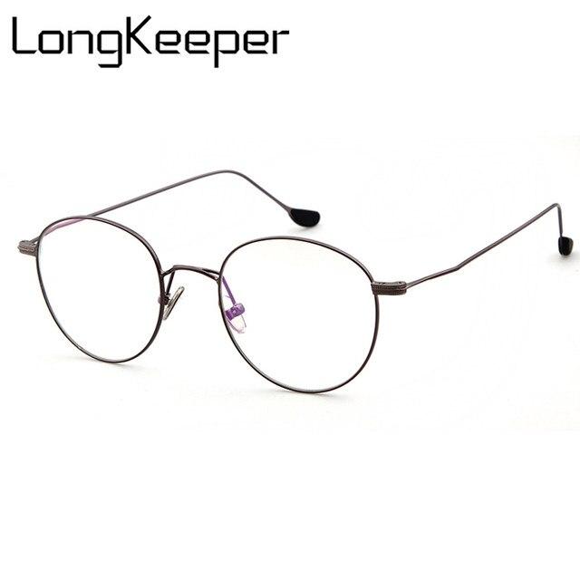 c1aebdd1cdae Online Shop LongKeeper Round Glasses Men Women s Sun Glasses Metal ...