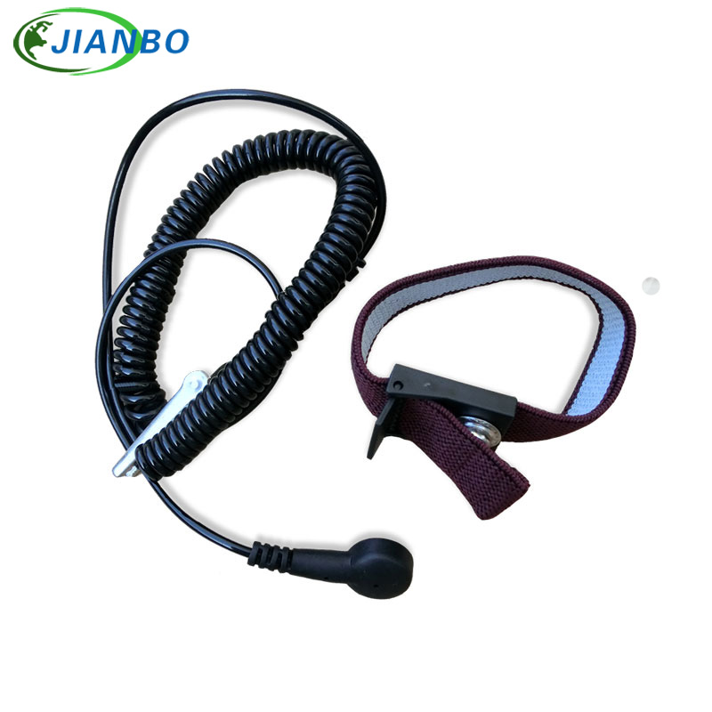 Hand & Power Tool Accessories Power Tool Accessories Free Shipping Posh Esd Adjustable Wrist Strap New Anti Static Antistatic Esd Adjustable Wrist Strap Band Grounding Clip