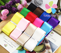 1'' Approx 25-26mm Mixed 12 Colors Satin Ribbon DIY Sewing & Packing Accessories 12y/lot,1y/color 040007080