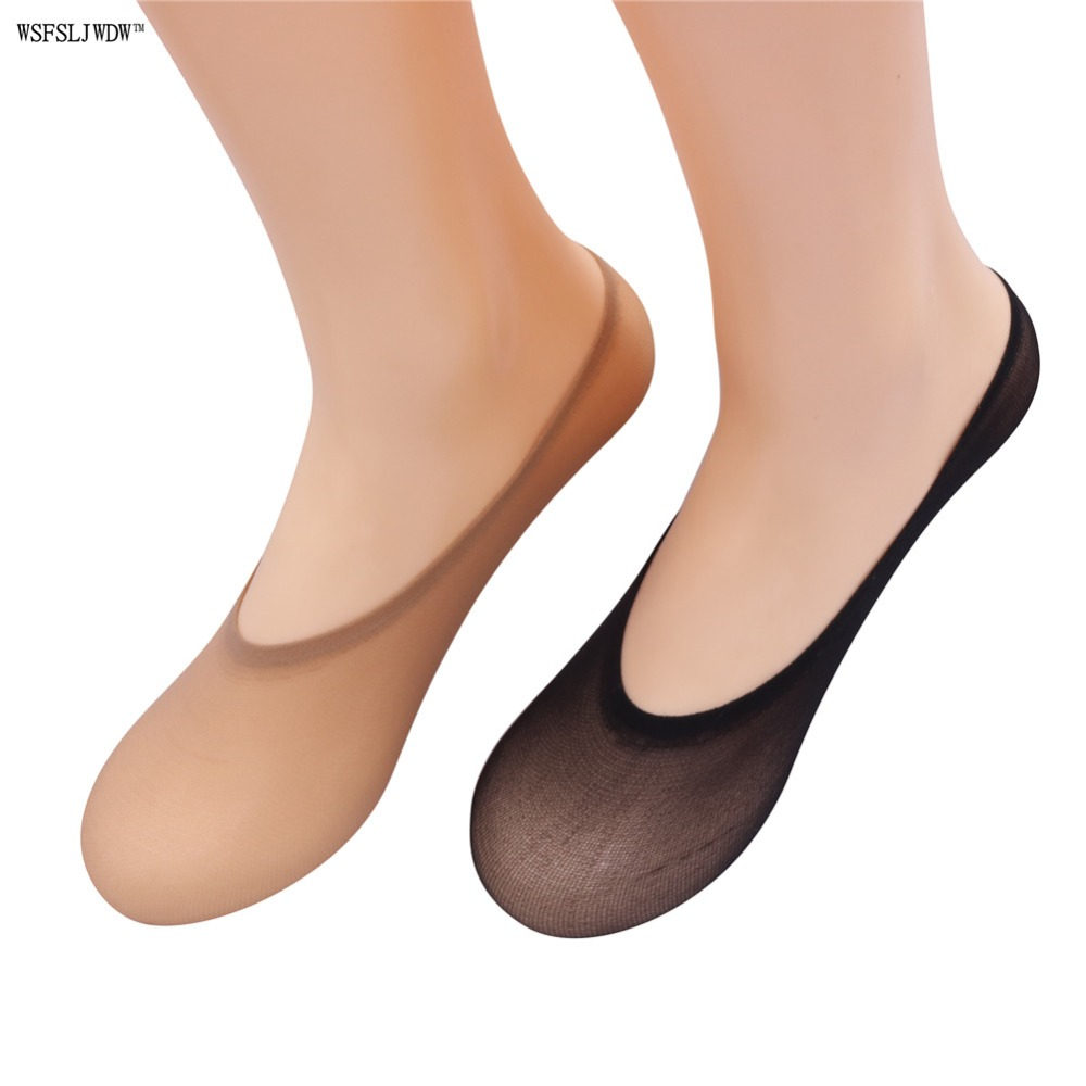 10 Pairs lace Boat Women   Socks   Skin Color And Black Two Options High Quality Very Low Prices Fashionable Ladies   Socks
