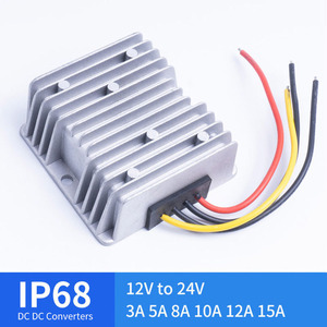 Image 1 - DC DC 12V TO 24V 3A 5A 8A 10A 12A 15A Boost Converter for Automotive Solar Voltage Regulators