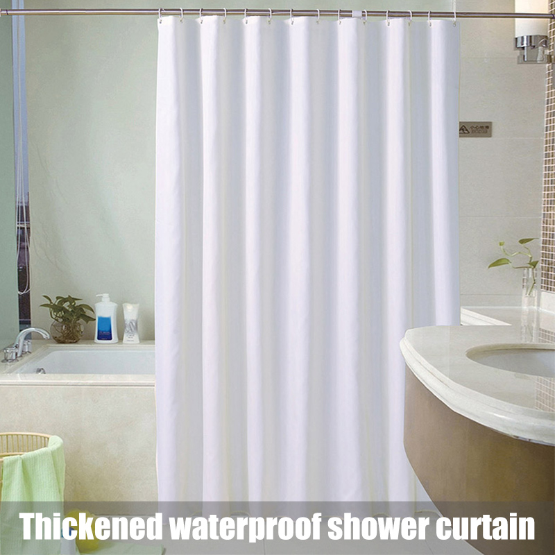 New Hot Fabric Shower Modern Mildew Resistant Bath Curtain Liner