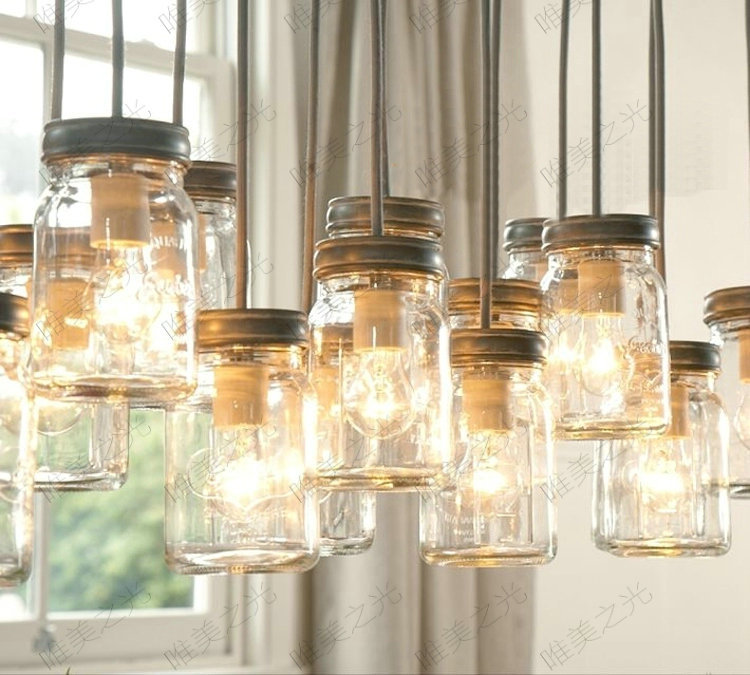 купить Loft retro Hanging Wine Bottle led ceiling iron Pendant Lamps E27 LED pendant lights for living room bar restaurant Kitchen home по цене 10443.06 рублей
