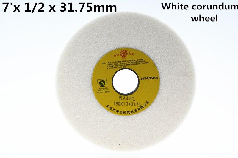 Branco Corindo Rebolo Pçs Frete Grátis Alta Qualidade 180×12.7×31.75mm 1
