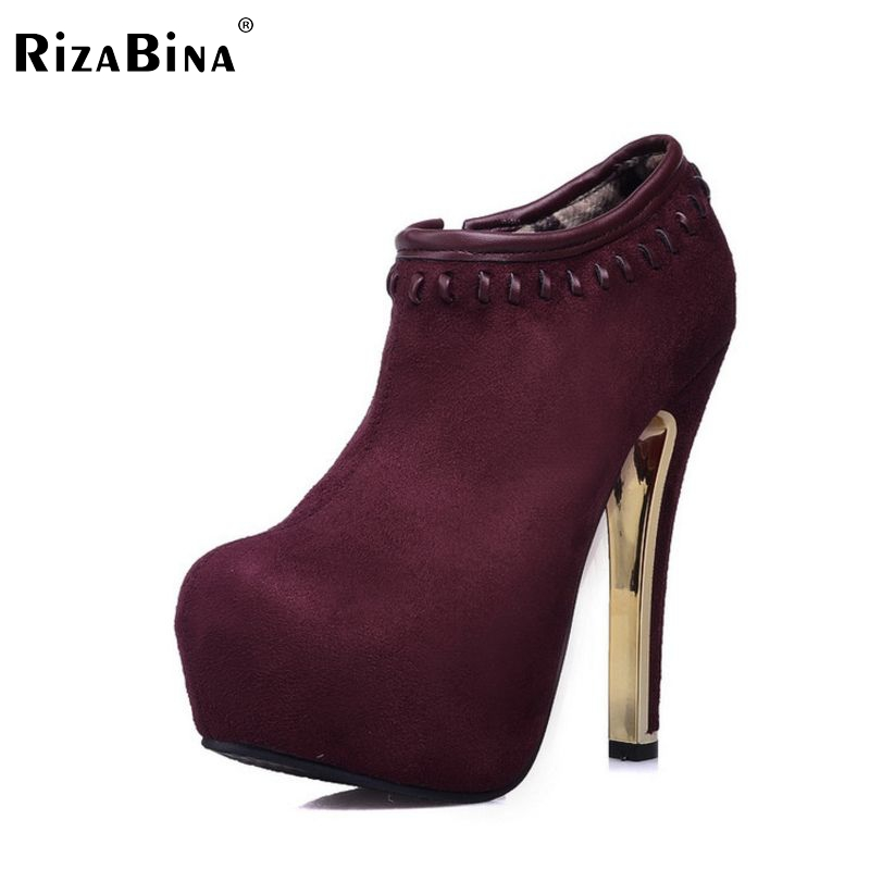 women thin high heel shoes lady suede platform spring sexy fashion pumps heeled footwear heels shoes size 33-42 P16146 cicime women s heels thin heel spikes heels solid slip on wedding fashion leisure casual party dressing high heel platform pumps