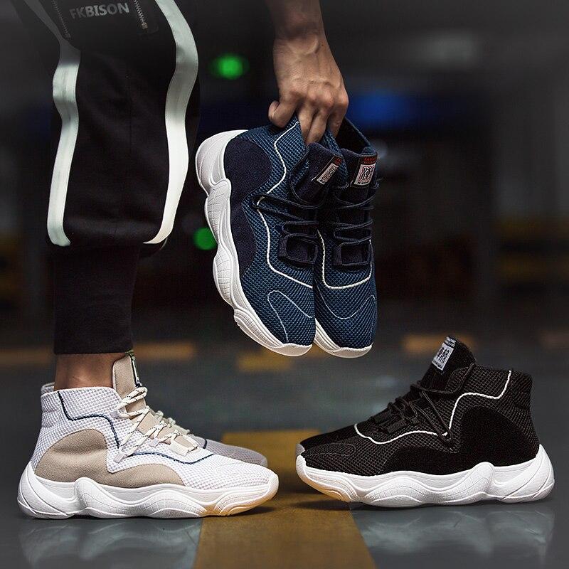 Chaussures pour hommes version coréenne respirante d'été de la tendance des chaussures de sport vieilles chaussures de noix de coco
