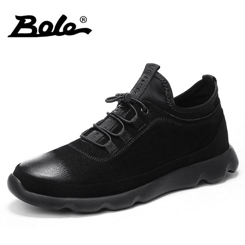 Noir kaki Espadrilles De Confortable Cuir Qualité Haute Lacent En Plates Chaussures Design Mode Nouveau Pour Bole Des Casual Hommes wqpTAT