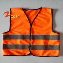 2017 Flash Deals Brand Zojo Safety Clothing Size 50*45cm Children Vest Reflective Age 5-10 Years Old Kids Coveralls V001-5