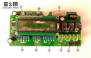 Image 3 - Iki eksenli güneş otomatik takip cihazı takip sistemi otomatik izleme kontrol çipi rüzgar hızı sıcaklık sensörü
