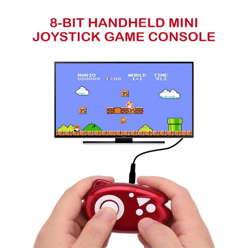 Mini, 8 bits consola de Video juegos construir de juego de los jugadores en 89 clásico soporte TV enchufe de salida juego jugador con AV líneas