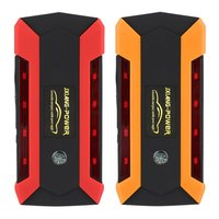 12V 600A Portable 4USB Car Jump Starter Power Bank Tool Kit Booster Charger Battery Auto Emergency LED Light