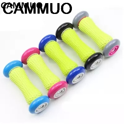 CAMMUO Foot Arm Massage Roller Trigger Point Stress Relief Massager Plantar Fasciitis Heel Arch Pain Relief Yoga Recovery Therap footful spiky massage ball trigger point sport fitness hand foot pain relief muscle relax apparatus unisex hard 6 colors