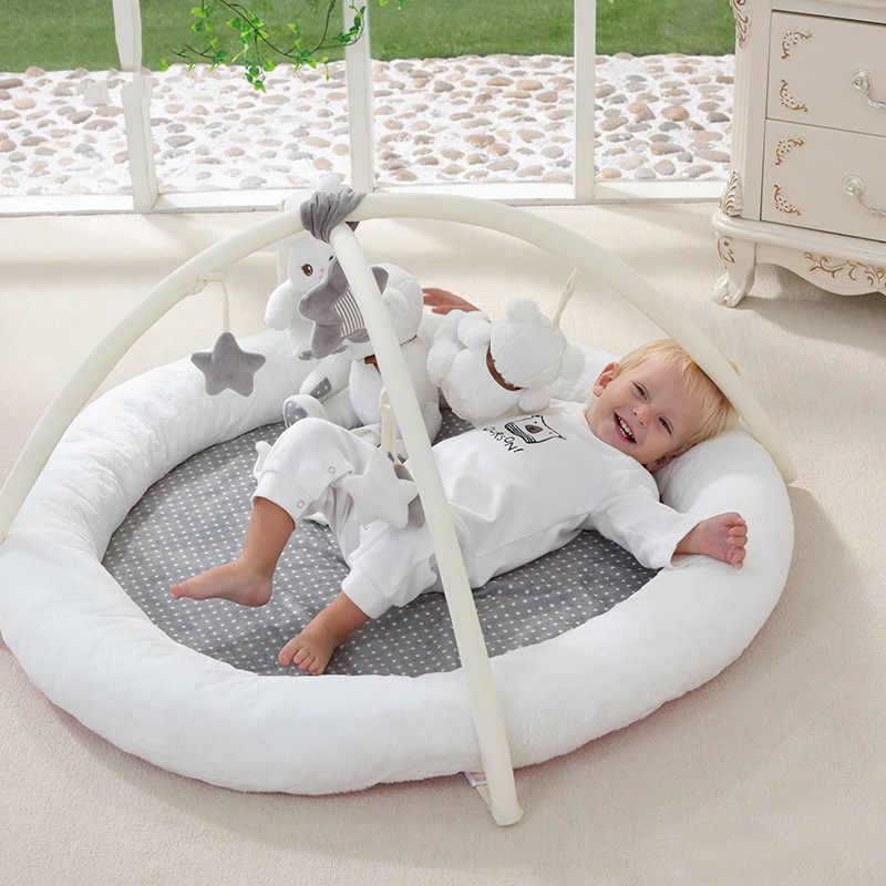 Детские игры Одеяло Фитнес рамка детские развивающие игрушки Сканирование мат младенцу От 0 до 2 лет восхождение ковра
