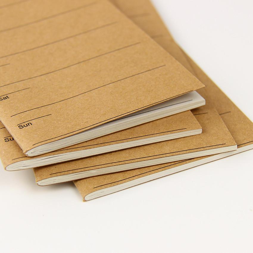 U3-18 New Stationery Long Plan Week Notebook Portable Simple Notebook