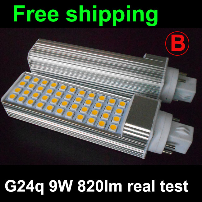 G24q-1 G24q-2 G24q-3 Gx24q 5W 7W 9W 10W 11W 12W 13W 14W Led G24q Plc Bulb Lamp 5050SMD Real Power Warranty 3 Years Ce Rohs